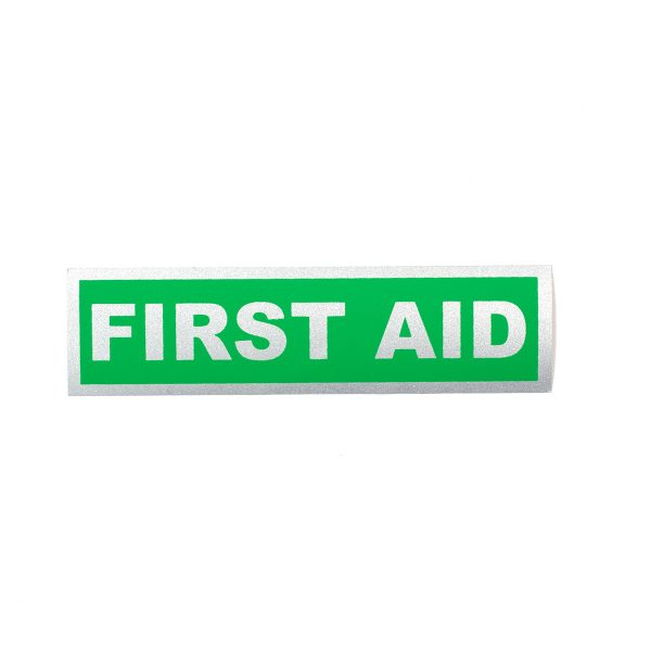 first-aid-reflective-badge