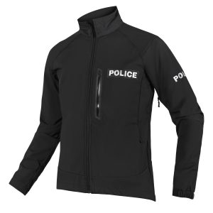 police soft shell jacket
