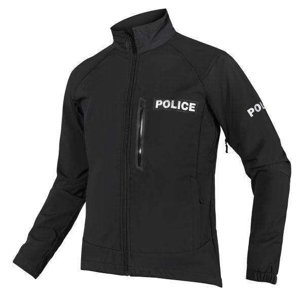 police soft shell jacket