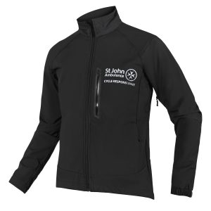 paramedic soft shell waterproof jacket