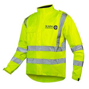 waterproof uniform cycle jacket