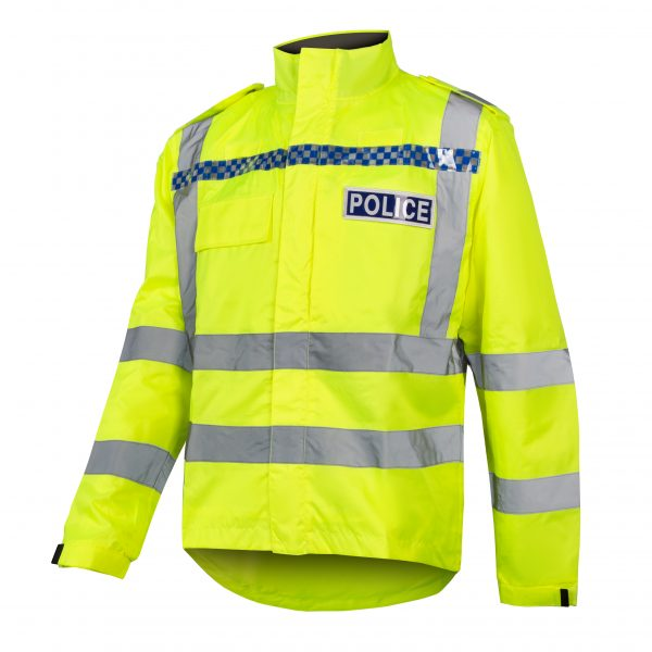 hi-viz-police-waterproof cycle-jacket