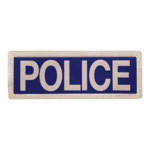 police-reflective-badge