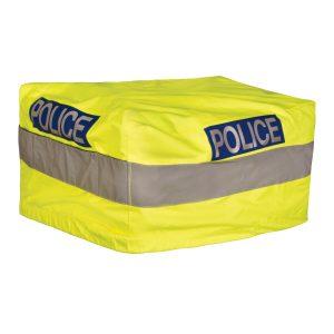 hi viz pannier police