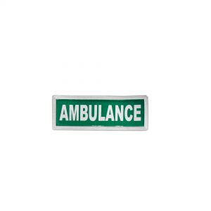 ambulance-reflective -badge